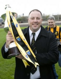 John helped guide the club to the 06/07 third division title
