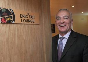 Eric shortly after the launch of the Eric Tait lounge