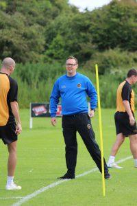 Thomson admits he's enjoyed former U20's boss Myles Allan's training
