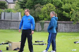 Former 'Gers Under 20 co-managers Neil Oliver and Myles Allan are still involved at the club