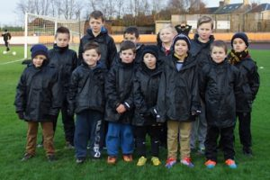 Berwick Juniors kindly provide the 'Gers first-team with ballboys for home games.