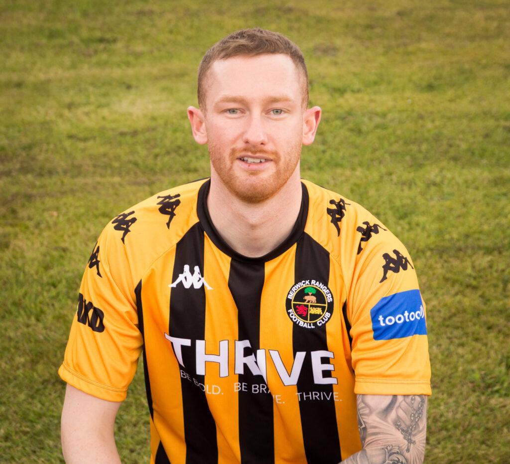 Espantar Peaje doble  Jordan Sinclair - Berwick Rangers Football Club
